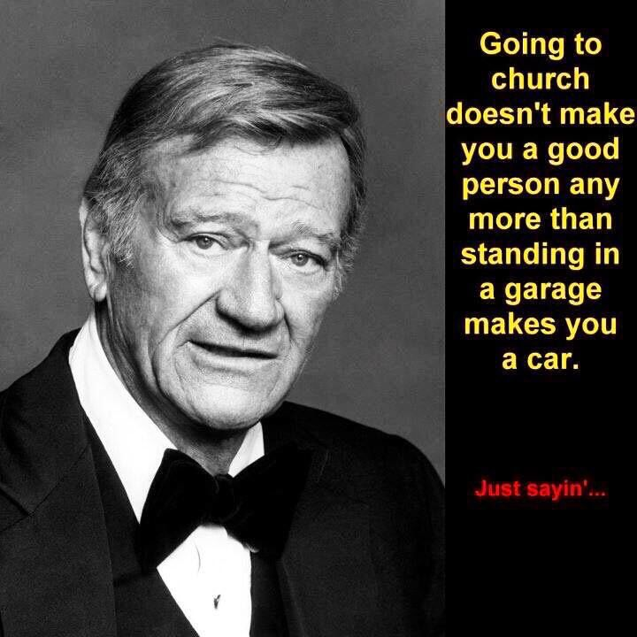 Well said Mr. Wayne, well said indeed.