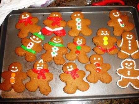 instructions on how to make gingerbread man