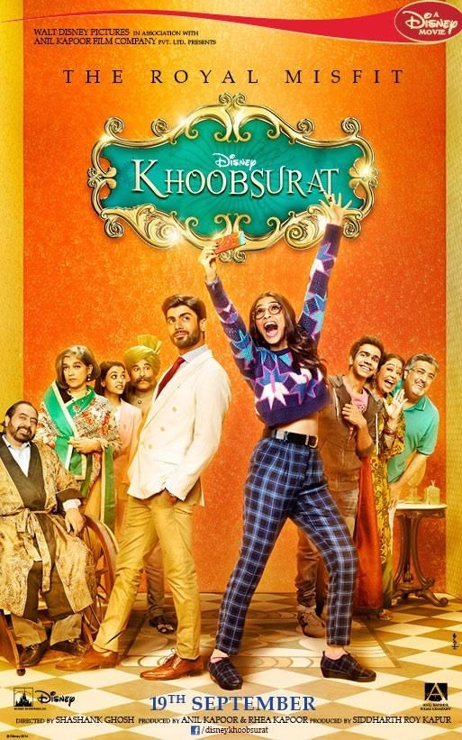 Khoobsurat Sonam Kapoor And Fawad Khan Spread Love AllOver Khoobsurat Movie is an upcoming bollywood Romantic Comedy Movie is scheduled to release on 19th September, 2014. Produced by Rhea Kapoor, Anil Kapoor and Siddharth Roy Kapur and Directed by Shashanka Ghosh. The movie is distributed by UTV Motion Pictures and Anil Kapoor Film Company.