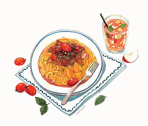 1000+ Ideas About Watercolor Food On Pinterest