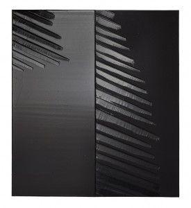 Pierre Soulages 29 février 2012, 181 x 162 cm