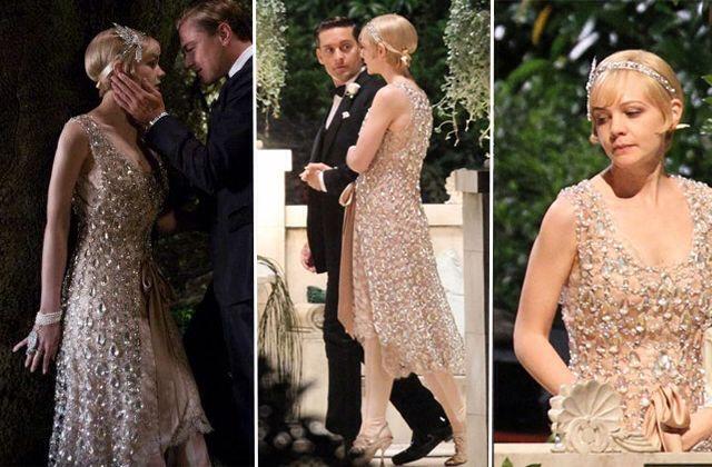 De jurk voor great Gatsby die ontworpen is door Prada! <3 ik vind jaren 20 jurken ontzettend mooi en helemaal de kostuums uit the great Gatsby. #topvintage