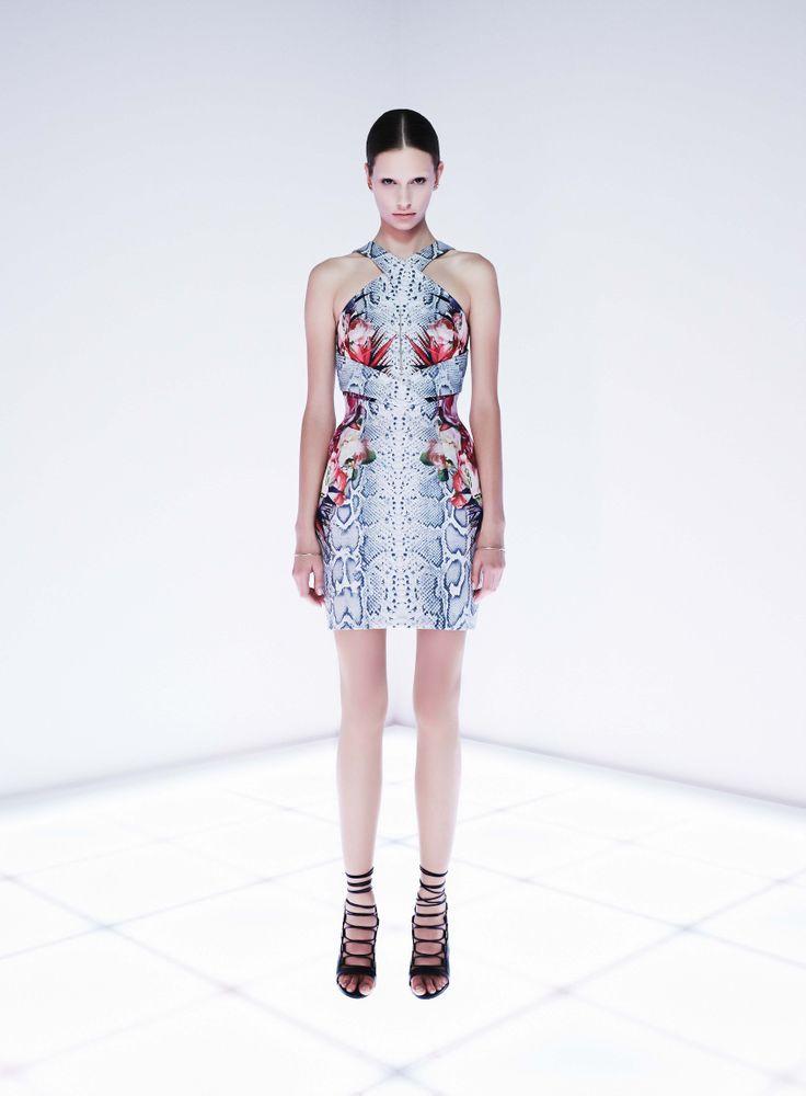 Simplex Dress by CAMILLA AND MARC http://www.camillaandmarc.com/simplex-dress-floral-snake-print.html