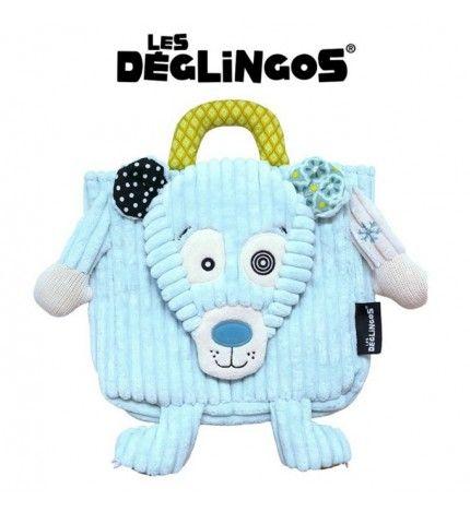 Les Deglingos Plecak Miś Polarny Illicos