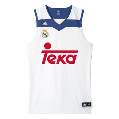 Real Madrid Basketball Home Jersey 2016/17: Real Madrid Basketball Home Jersey 2016/17 #RealMadridShop #RealMadridStore