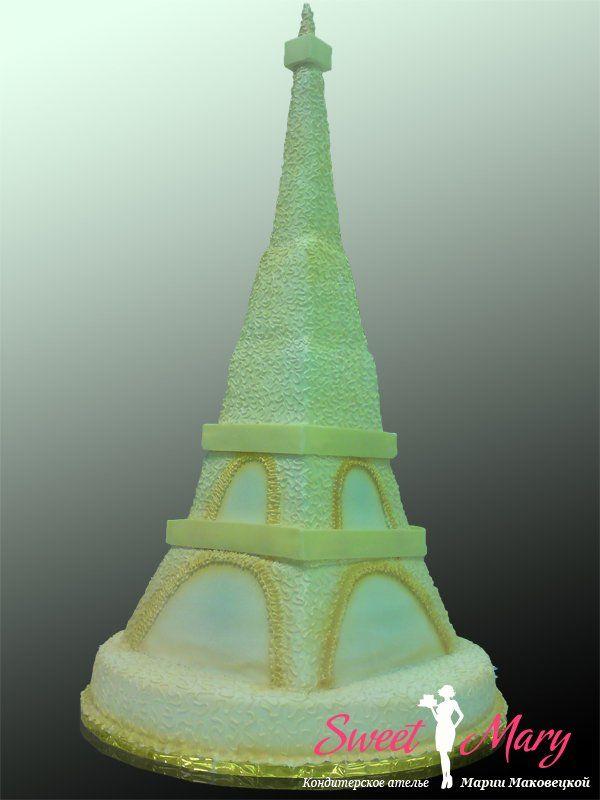 Торт эйфелева башня делать