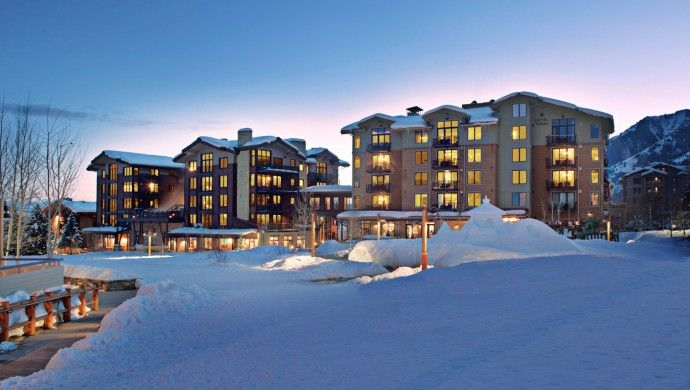 Hotel Terra Jackson Hole: The property has a great location in Teton Village with ski-in, ski-out access in the winter.
