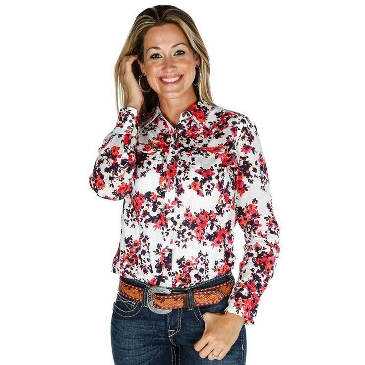 Women's Ariat Floral Button Up Shirt