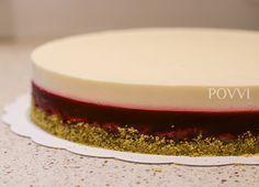 Framboos-Citroen taart - POVVI