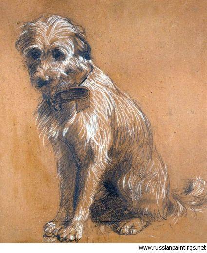 Gemito Vincenzo - 'Seated Dog' VINCENZO GEMITO (Napoli, 16 luglio 1852 – Napoli, 1 marzo 1929)