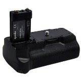 Opteka Battery Pack Grip / Vertical Shutter Release for Canon EOS Digital Rebel XTi & Rebel XT with 2 NB-2LH Batteries (Electronics)By Opteka