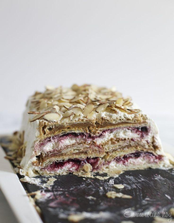 Torta Pompadour de guinda