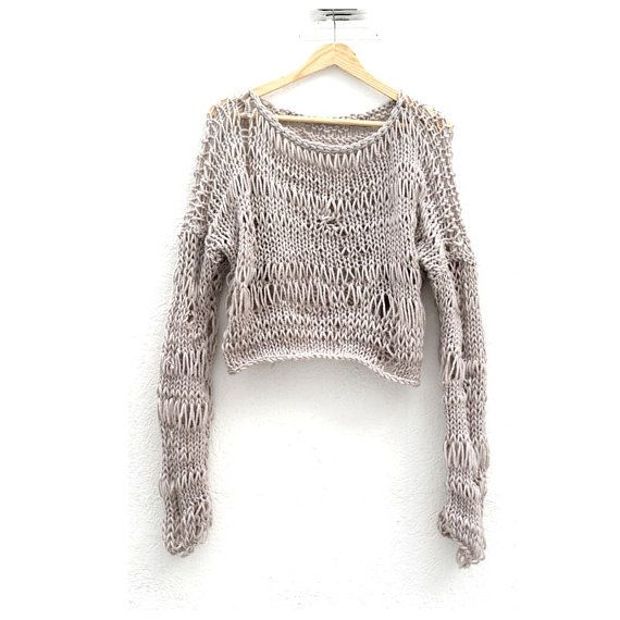 Knitting Stitches Loose : 1000+ ideas about Loose Knit Sweaters on Pinterest Loose Sweater, Long Slee...