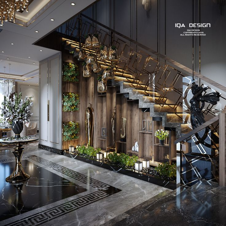 Best New Classic Villa On Behance In 2020 Staircase Design 400 x 300