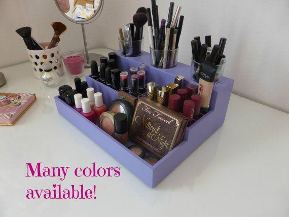 Organisateur de maquillage - présentoir de maquillage - beaucoup de couleurs disponibles conçu pour IKEA Hemnes coiffeuse - maquillage porte-rangement rouge à lèvres