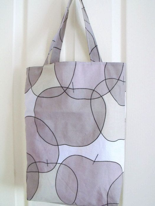 cotton shopping bag shopper tote bag for by FingerPrickingGood