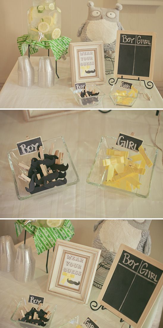 Boy or Girl - wear your guess (Green and Yellow Owl-themed Party)