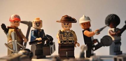 Where's Carl?  Walking Dead Lego