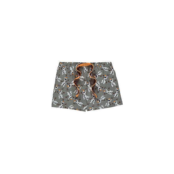 Disney Frozen Olaf Pyjama Shorts Women ($6.47) ❤ liked on Polyvore featuring intimates, pajamas and disney