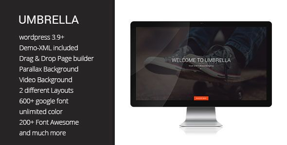 Check out Umbrella. One Page WP Bootstrap Theme  @bootstrapstage