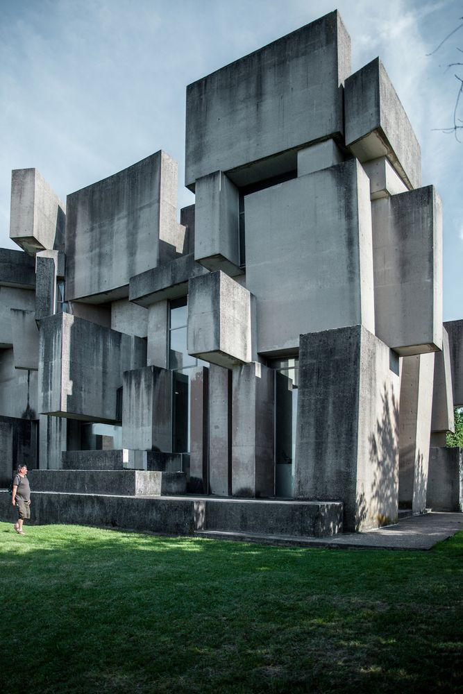 Gallery of The Bizarre Brutalist Church that Is More Art than Architecture - 6