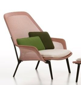 Slow Chair & Ottoman Chaise Vitra By Vitra, from €2,159.00