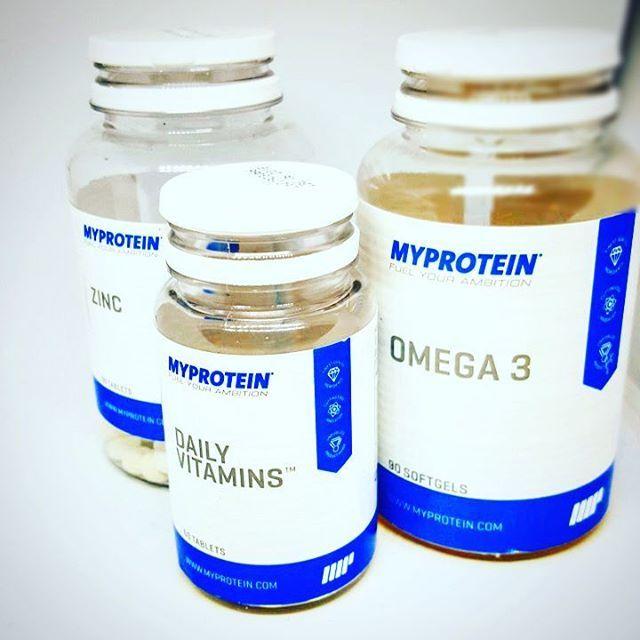 Das gute Gefühl täglich gesund zu leben. @myproteinde @myproteinuk #fitness #fitnesslifestyle #supplements #healthy #vitamin #zinc #omega3 #instadaily #instagood