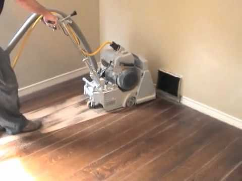 Refinishing Hardwood Floors Part 1: Sanding