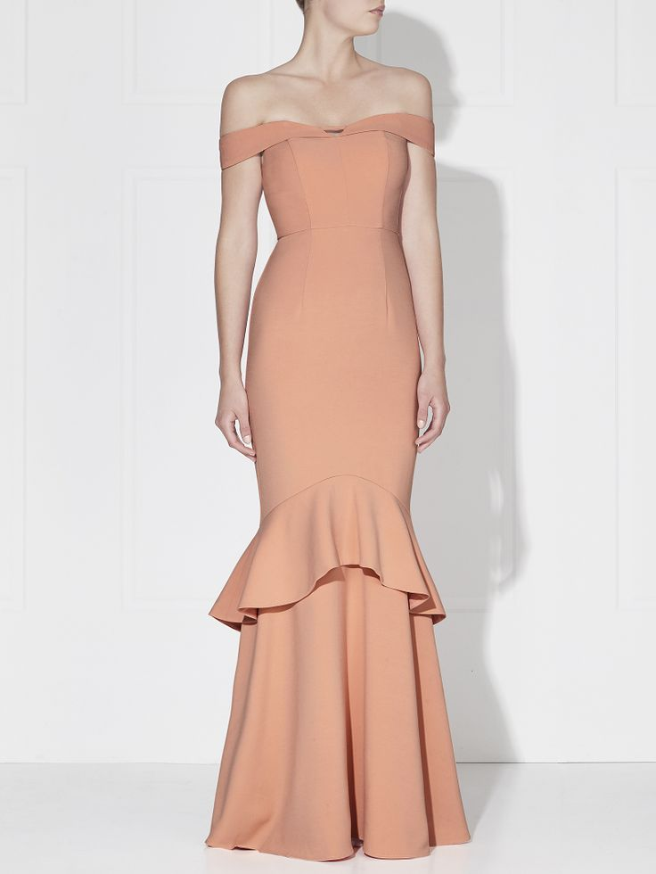 Love Honor - Rosetta Gown Melon