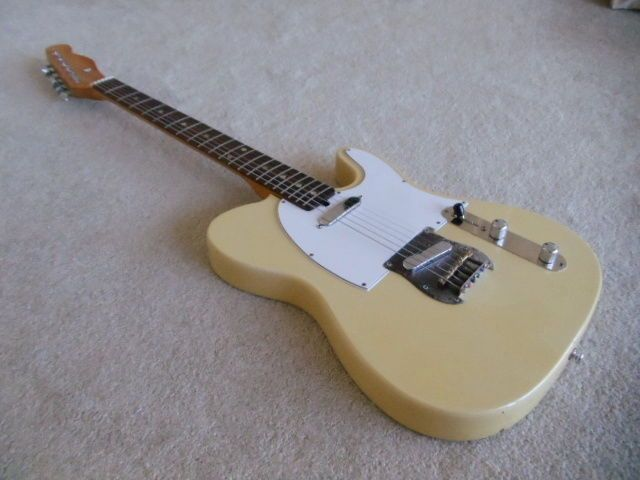"""Guitar Blog: Ibanez """"lawsuit"""" Tele from the early 1970s"""