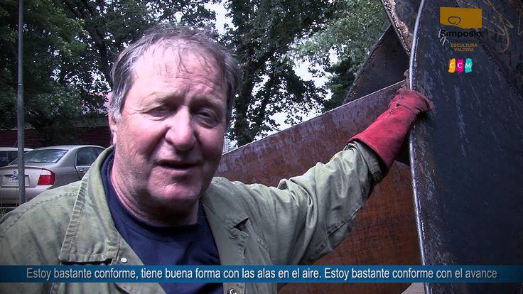 XXI SIMPOSIO INTERNACIONAL DE ESCULTURA DE VALDIVIA 2016   JAMES KORPAN ...