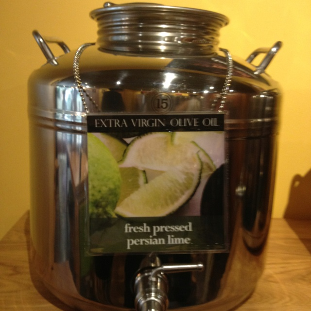 Olive Oil Containers at this cool little store in Ithaca. This one smelled amazing. Photo Donanne Kasikci 2012