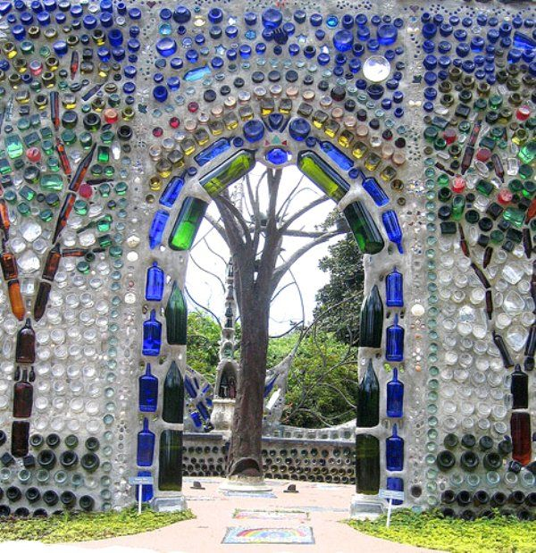 Glass Bottle Walls and Houses and more...