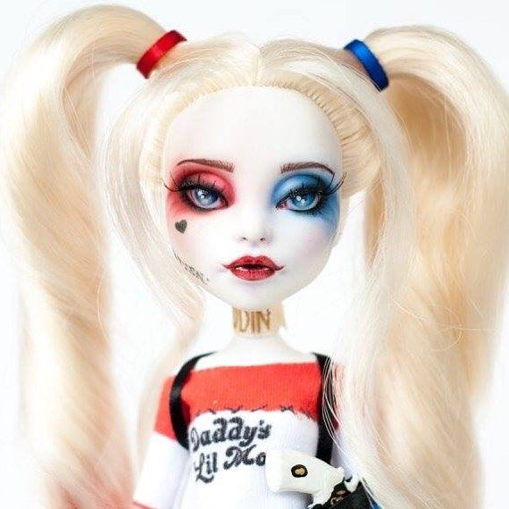 Awesome Harley doll