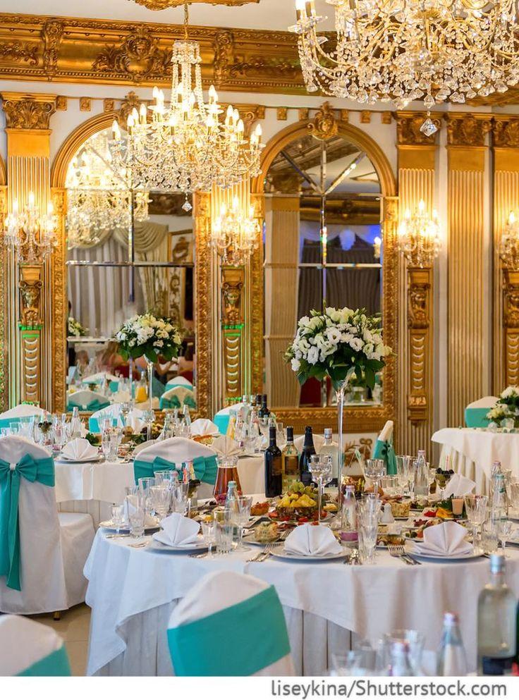 Bankettsaal für Hochzeit