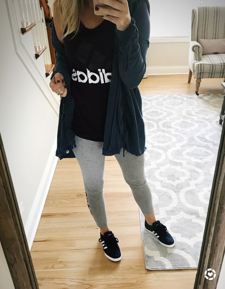 Womens Adidas wear // casual style @thelilliebag thelilliebag.com