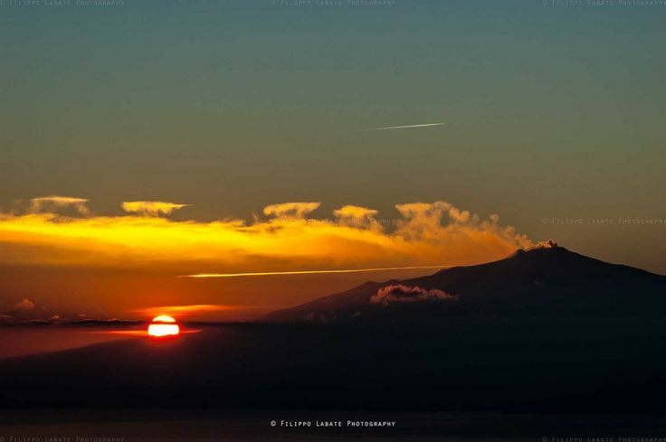 Etna at sunset by Filippo Labate on 500px