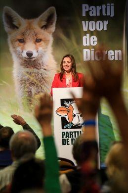 Marianne Thieme op het partijcongres