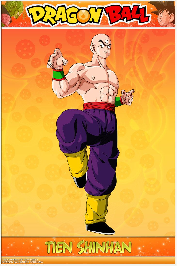 Dragon Ball - Tien Shinhan WS by DBCProject on DeviantArt