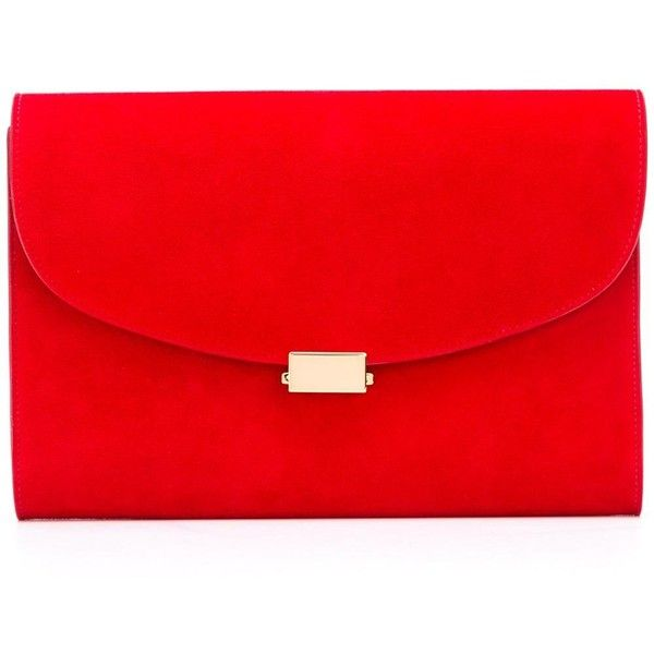 The 25  best Red clutch bags ideas on Pinterest | Black sandal ...