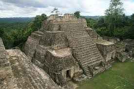 From a observation point on a nearby pyramid, the early Maya could watch the sun rise behind these buildings and mark the summer and winter solstices (the longest and shortest days of the year) as well as the vernal and autumnal equinoxes (when day and night are of equal length).