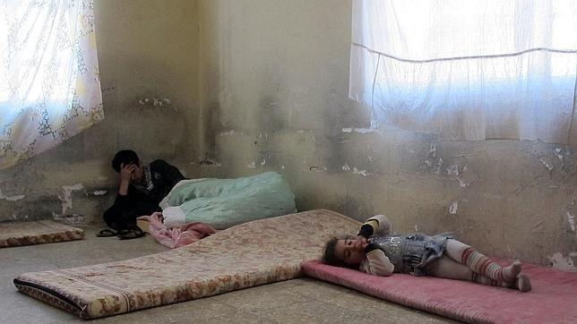 La triste Navidad de los cristianos iraquíes perseguidos por el Estado Islámico http://w.abc.es/i7u5qx