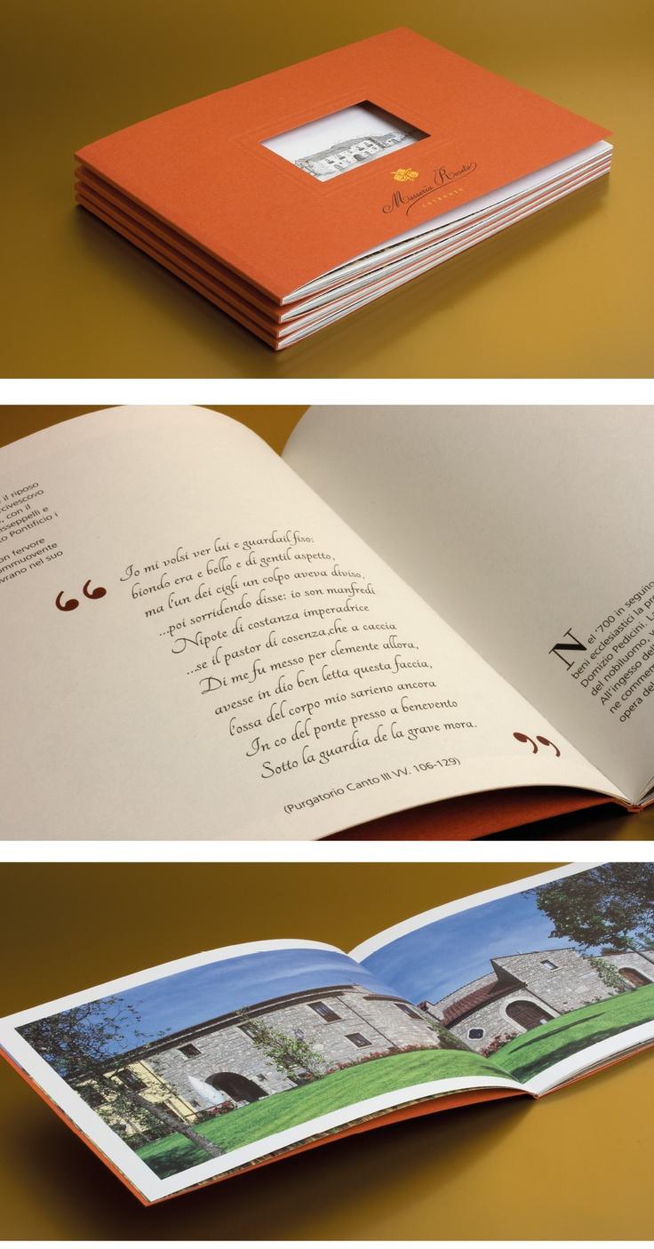 Progetto grafico catalogo Masseria Roseto | PENNAgrafica