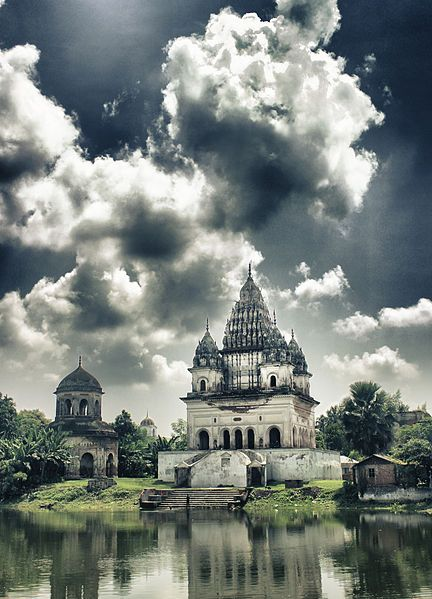 Shiva Temple, Puthia, Bangladesh. For the best of art, food, culture, travel, head to theculturetrip.com. Or click theculturetrip.co... for everything a traveler needs to know about Bangladesh.