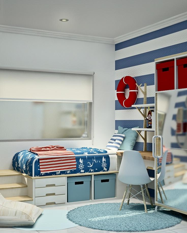 nautical kids bedroom design design interior residence bedroom bed pillow - Fashion Designer Bedroom Theme