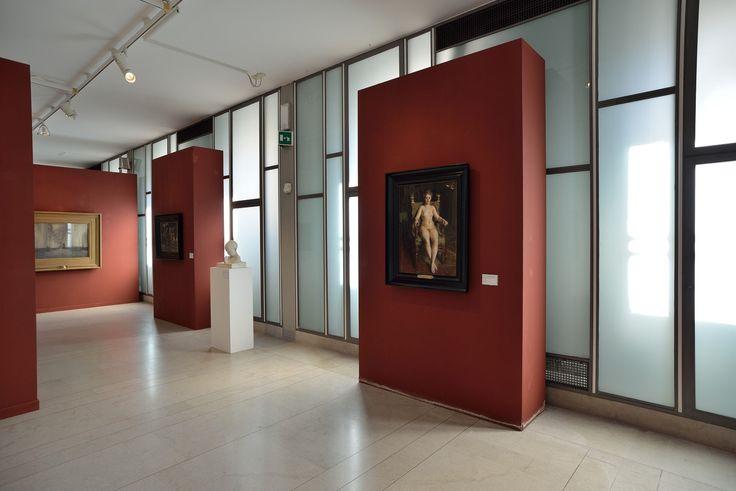 Museo Revoltella, Trieste. La galleria del quarto piano. Opera di A. Zorn. Foto Mattia Visintini.