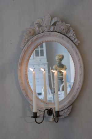 Oval lampett för 2 ljus | Solgården