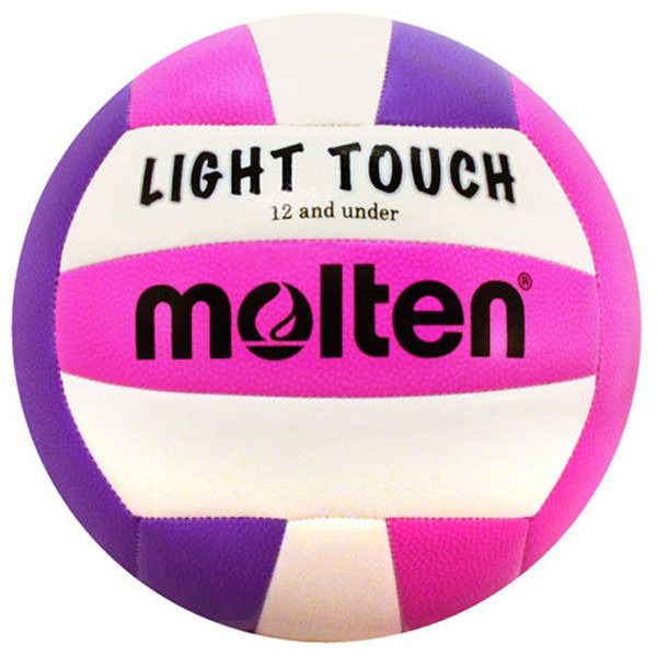 Molten MS240 Light Touch Volleyball in Violet/Pink