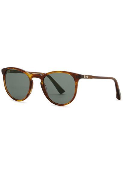 c68423f474 Valentines Gifts for HIM 2018 : George Arthur brown round-frame sunglasses  | Pinterest