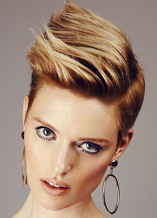 short hairstyles 2015, short haircut - long on top hairstyle for women